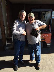 Solar Supply in Victoria TX celebrates the retirement of Richard Perez