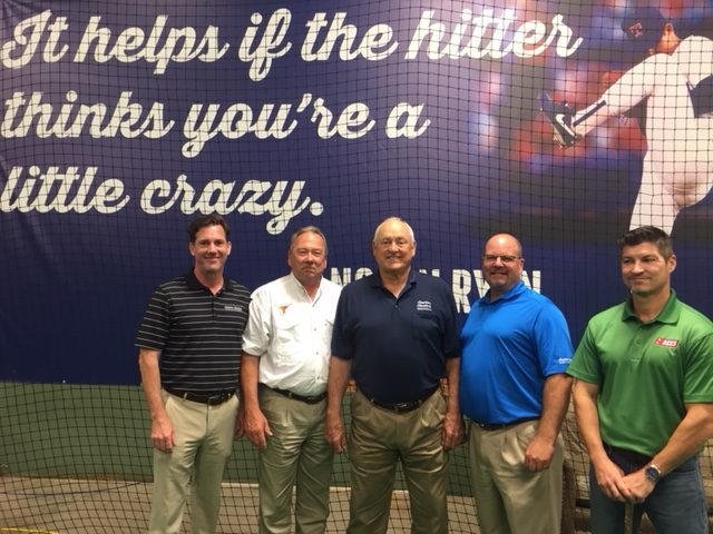 Aces A C Supply Teams With Mlb Great Nolan Ryan For New