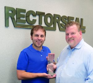 RectorSeal® Receives Top Sales Performance Platinum Award From Key Wholesalers Group