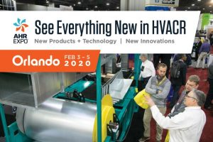 See everything new in HVACR, including the latest innovations, products and technologies, at the 2020 AHR Expo