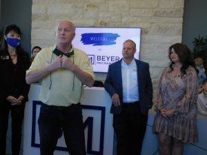 Beyer Mechanical Ribbon Cutting in Selma TX
