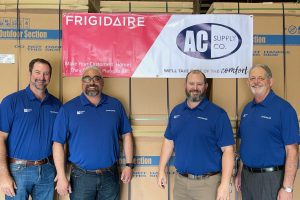 Nortek Global HVAC Names Texas' AC Supply as Wholesale Distributor for Frigidaire® and Gibson® Unitary Brands